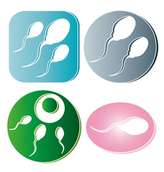 Sperm vector image