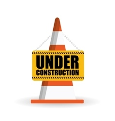Under constructon design vector