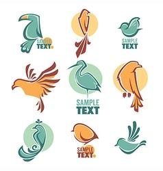 Birds logo vector