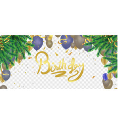 christmas xmas holiday lettering design vector image