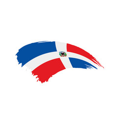 Dominicana flag vector