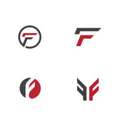F letter icon vector