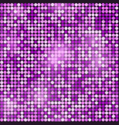 holiday seamless purple glittering disco vector image