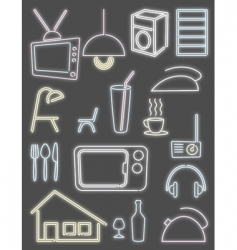 Home light design vector