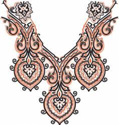 Collar design vector