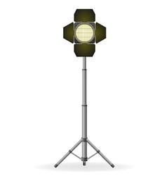 movie floodlight vector image