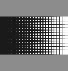 halftone pattern background square spot shapes vector image vector image