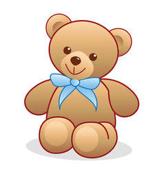 Simple Teddy Bear vector image