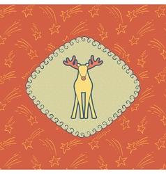 02NY Deer 20 vector