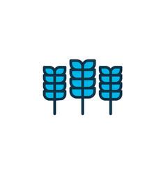 cereal icon colored symbol premium quality vector image