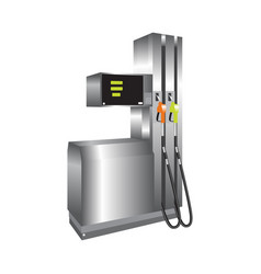 Gas station 3d vector