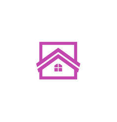 house logologo icon design template vector image