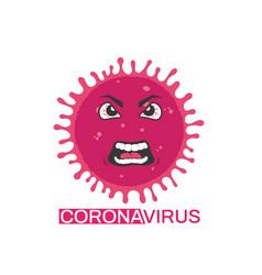 Personage coronavirus vector
