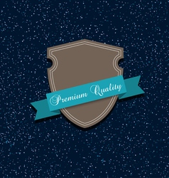Premium label quality vector image