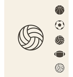 Sport ball vector image