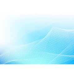 Blue Abstract Lines vector image vector image