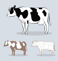 Cow 4 vector