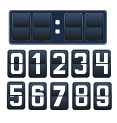 a countdown timer vector image