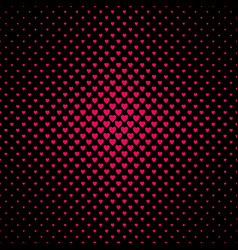abstract halftone heart background pattern - love vector image