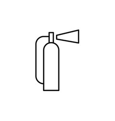 fire extingushier icon vector image