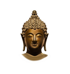 Head of Buddha Subdoing Mara vector image