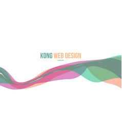header website abstract background design vector image