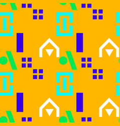 Neighborhood playground seamless pattern vector