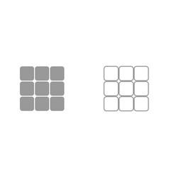 Panel enter it is black icon vector