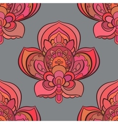 seamless background Beautiful floral vector image