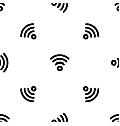 wireless pattern seamless vector image