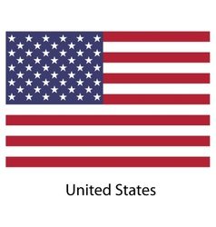 Flag country united states of america vector image vector image