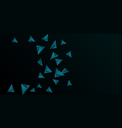 abstract composition of triangle vector image