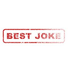 Best joke rubber stamp vector