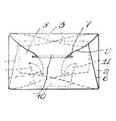Envelope vintage vector