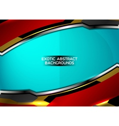 Exotic abstract background vector