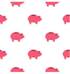 piggy pattern flat vector image