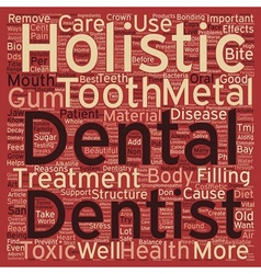 Reasons You Want A Holistic Dentist To Take Care vector