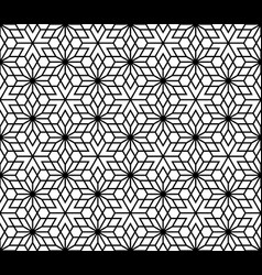 Seamless traditional japanese kumiko ornamen vector