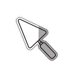 spatula construction tool vector image