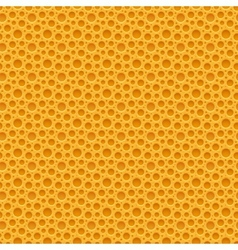 Yellow seamless plastic background vector image