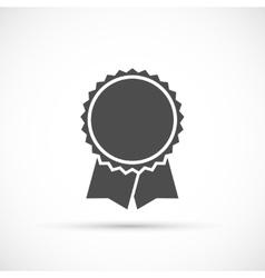 Award ribbons icon vector image