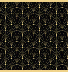 Abstract art deco vintage seamless pattern vector