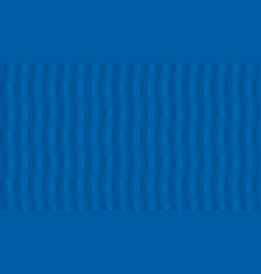Abstract blue wavy pattern vector