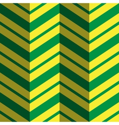 abstract geometric background in green and yellow vector image