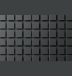 black background with flying squares casting a vector image