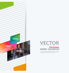 business design elements for graphic layout vector image