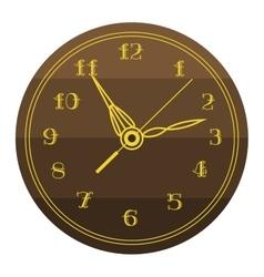 Clock face watch vector image