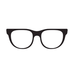 glasses accessory icon vector image
