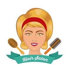 Hair Salon design vector image