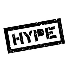 Hype rubber stamp vector